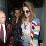 Paris Jackson look hippie