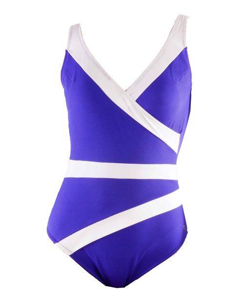 Bañador azul y blanco nueva colección 2019 de Venus