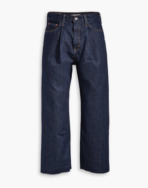 Jeans anchos y negros nueva colección de Levi's