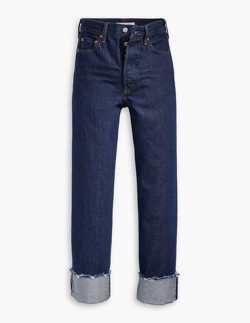 Jeans con dobladillo nueva colección de Levi's