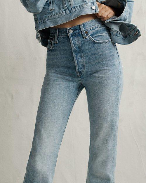 Jean cintura extra alta nueva colección de Levi's