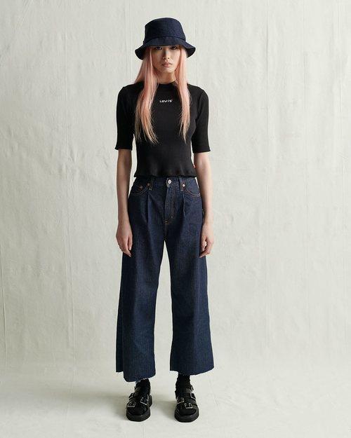 Jeans oscuros nueva colección de Levi's