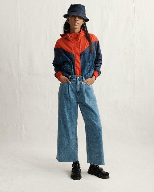 Jeans piernas anchas nueva colección de Levi's
