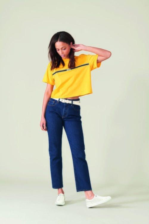 Jeans con cinturón nueva colección de Levi's