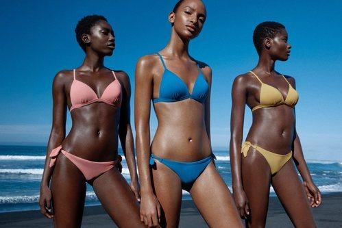 Bikinis clásicos de la colección de baño 2019 de Lefties