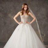Vestido tul de novia de la colección crucero de Pronovias 2020