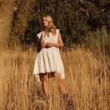 Vestido blanco de la colección Studio primavera/verano 2019 de H&M