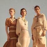 Los tonos blancos y tierra, protagonistas de la colección Studio primavera/verano 2019 de Zara
