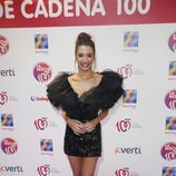 Ana Guerra con un vestido corto negro