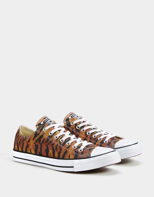 Zapatillas Converse estampado tigre