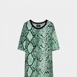 Camiseta estampado animal serpiente Bershka