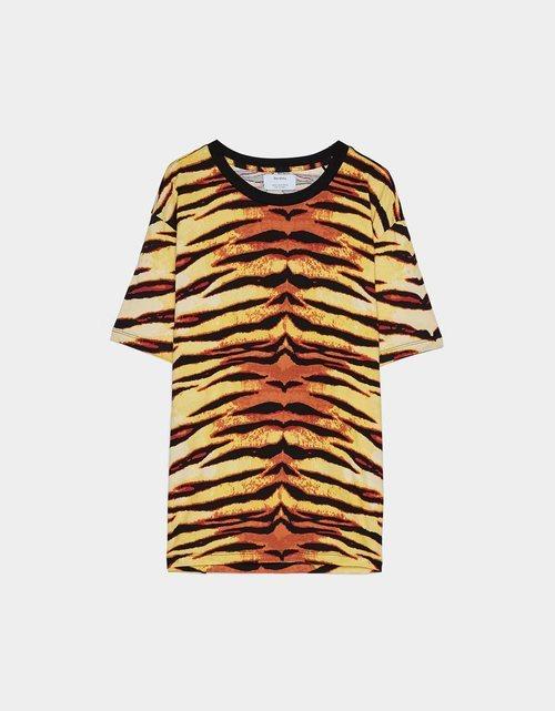 Camiseta estampado animal tigre Bershka
