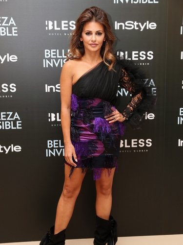 Mónica Cruz con un mini vestido