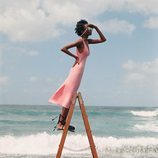 Vestido rosa de la colección 'Beyond Nature' de TRF