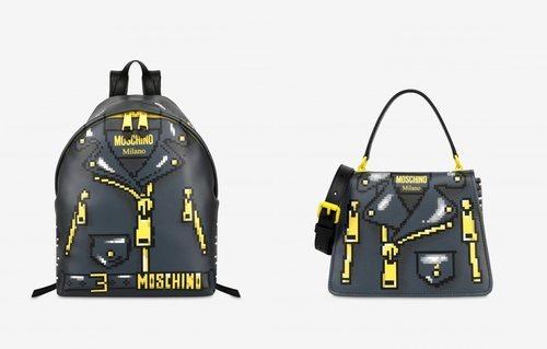 Mochila y bolso colección Moschino x The Sims