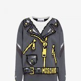 jersey punto estampado cadenas colección Moschino x The Sims
