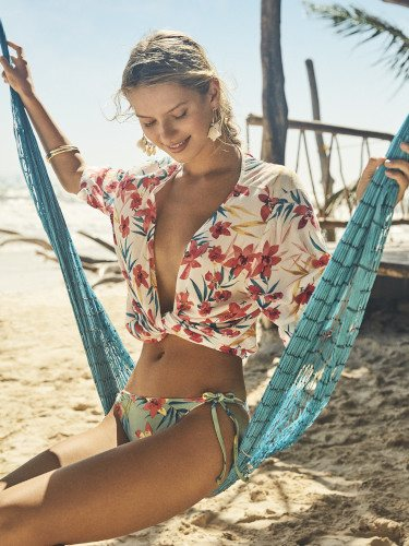 Camisa floral de la colección primavera/verano 2019 de Women'secret