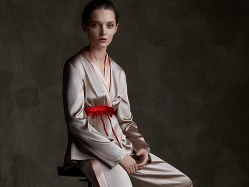Pijama de la colección primavera/verano 2019 de La Perla