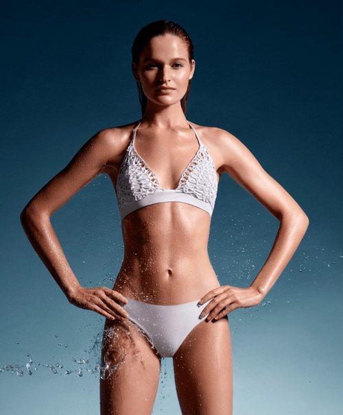 Bikini blanco de la colección primavera/verano 2019 de La Perla