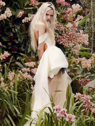 Vestido 'Hyacinth' de la colección de novias primavera 2020 de Vera Wang