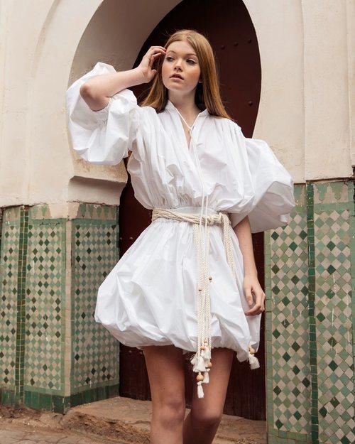 Mini vestido de la colección 'Lost in Marrakech' de Philosophy di Lorenzo