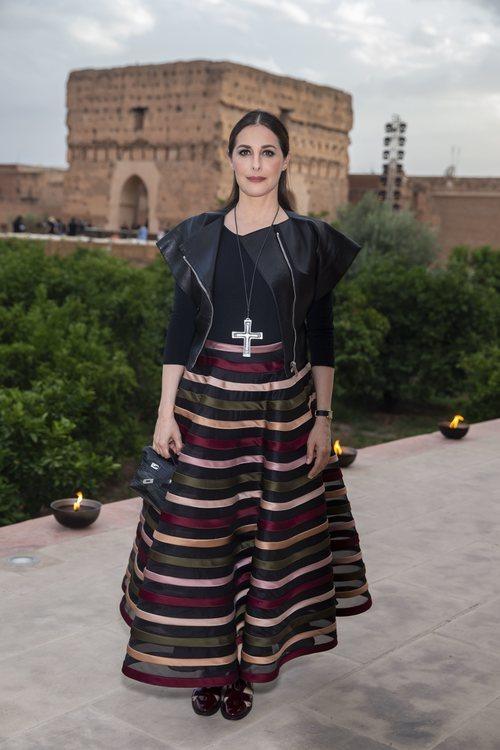 Amira Casar acude al evento de Dior en Marrakech que presenta la colección Cruise 2020