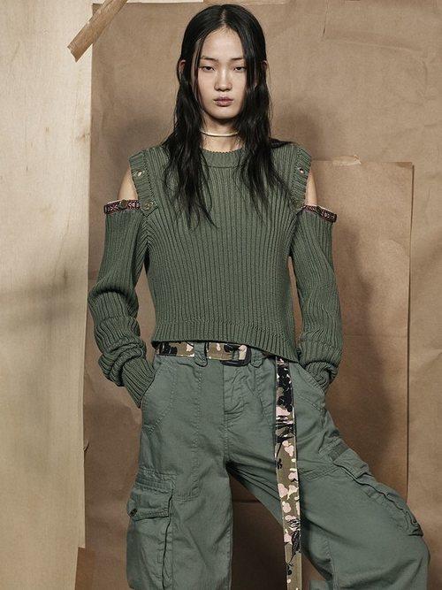 Jersey desmontable de la colección 'SRPLS 2' de Zara