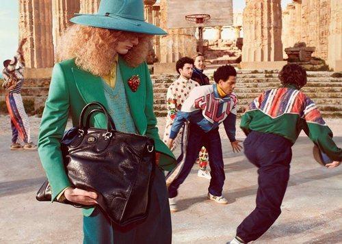 Prendas de estilo sport de la colección pre-fall 2019 de Gucci