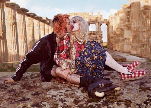 La cultura punk, presente en la colección pre-fall 2019 de Gucci