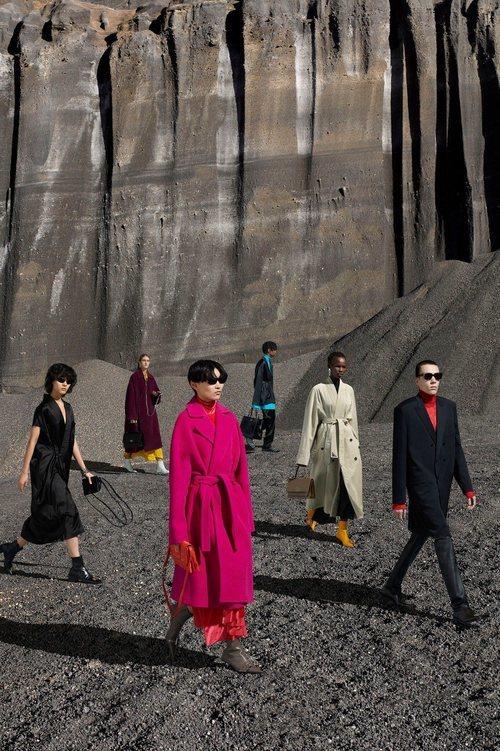 Los abrigos de entretiempo, protagonistas de la colección otoño/invierno 2019 de Balenciaga