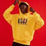 Sudadera amarilla con logo ASIF de ASIF Clothing
