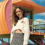 Falda pareo de la colección 'BSK Teen' de Bershka