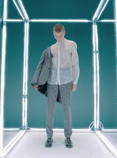 Americana y pantalón de lana de traje de Giambattista Valli x H&M