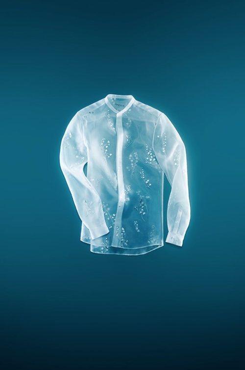 Camisa de organdí de manga larga de Giambattista Valli x H&M
