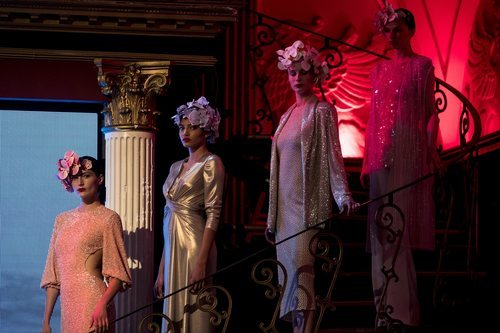Difernetes modelos durante el desfile de la colección crucero de Juan Duyos para 'Alta Mar'