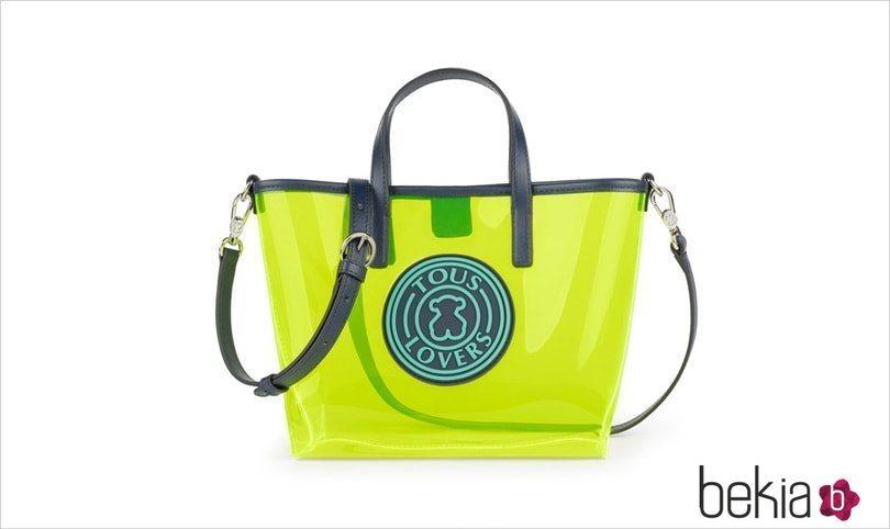 Bolso verde de la colección 'Gum' de Tous