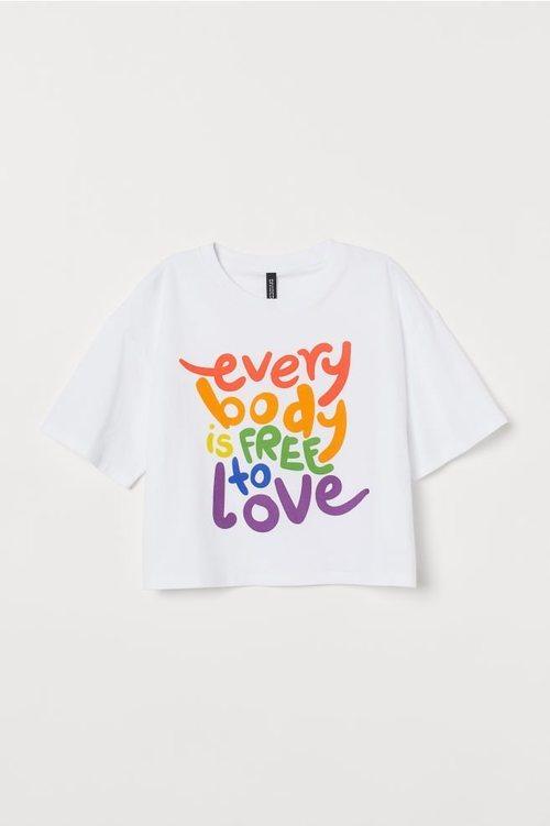 Camiseta de la colección 'Love for All' de H&M