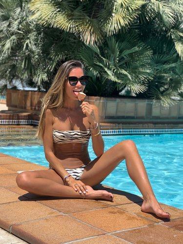 Marta Carriedo con un bikini del verano 2019
