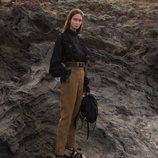 Pantalón de talle alto de la colección 'Ocean Breeze' de Alberta Ferretti