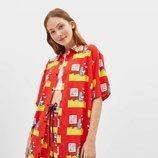 Camisa con estampado de Bereshka x Snoopy para la colección de Bershka verano 2019