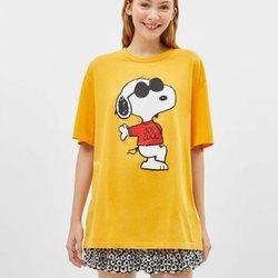 Colección de Bershka protagonizada por Snoopy para verano 2019