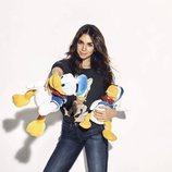 Elena Furiase en el homenaje solidario al Pato Donald por su 85 aniversario