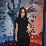 Vanessa Hudgens con conjunto de pantalón y cuerpo en la premier de 'The Dead Don't Die'