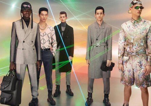 Siluetas futuristas, láser y vanguardia en la nueva colección de Dior 2019