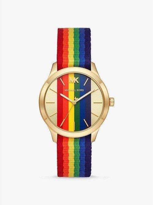 Reloj arco iris para la colección Pride 2019 de Michael Kors