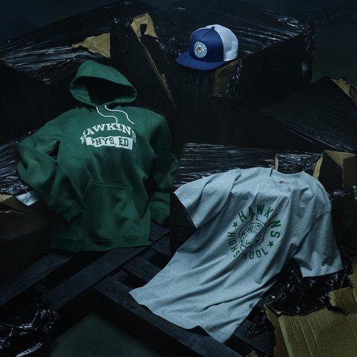 Ropa deportiva y gorra de la nueva colección de Nike x Stranger Things