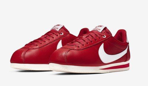 Modelo Cortez en rojo inspirado en Stranger Things para la nueva colección de Nike