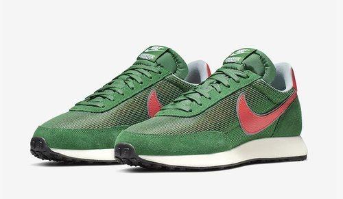 Modelo Tailwind en verde inspirado en Stranger Things para la nueva colección de Nike