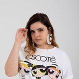 Camiseta 'Coco White T-shirt' de la nueva línea 'curvy' de María Escoté