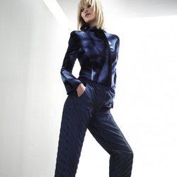 Conjunto azul de la colección 'Rapsody in Blue' de Giorgio Armani